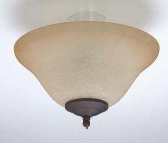 LIGHT KIT CURVED WHITE ALABASTER BOWL AW 3x60W E12 (87|LK54)