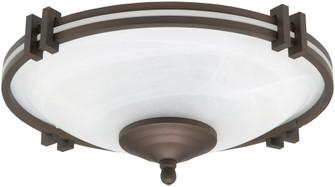 LIGHT KIT LOW PROFILE ALABASTER 3x60W E12 (87|LK60-ORB)