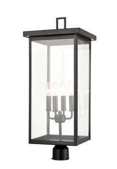 Outdoor Post Lantern (670|2604-PBK)