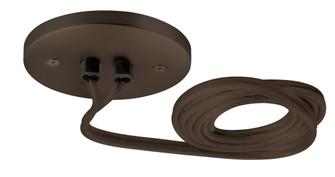 4'' Round Canopy Surface Mount 120V/60W 12V Elec. AC Transformer Bronze (1381|PWECBL60BZLED)