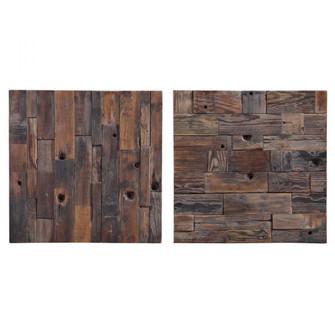 Uttermost Astern Wood Wall Decor, S/2 (85|04239)
