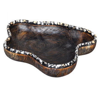Uttermost Chikasha Wooden Bowl - Large (85|17744)