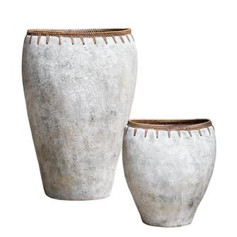 Uttermost Dua Terracotta Vases, S/2 (85|17745)