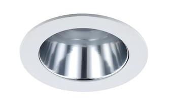 Incandescent Recess 4 inches  White Clear Reflector Trim, Max Lamp-R20/40W (EVRT202CLR)
