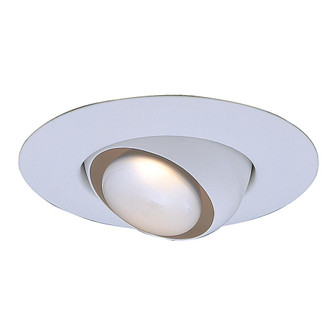 Incandescent Recess 6 inches  White Eyeball Trim, Max Lamp-R30/75W (EVRT603WH)