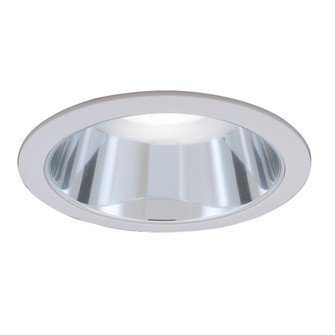 Incandescent Recess 6 inches  White Clear Reflector, Max Lamp-R30/75W (EVRT624CL)