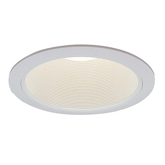 Incandescent Recess 6 inches  White Phenolic Coilex Baffle, Max Lamp-R30/75W (EVRT634WH)