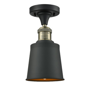 1 Light Vintage Dimmable LED Semi-Flush Mount (3442|517-1CH-BBB-M9-LED)