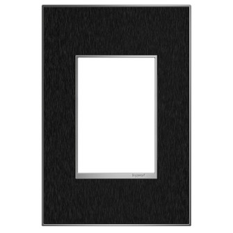 Black Stainless, 1-Gang + Wall Plate (AWM1G3BLS4)