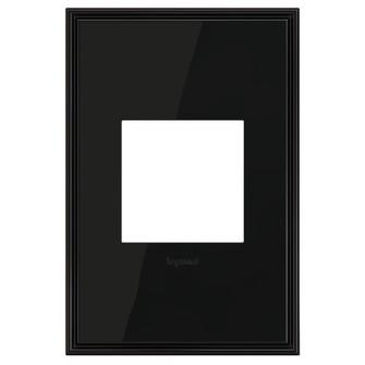 Black Nickel, 1-Gang  Wall Plate (1452|AWC1G2BLN4)