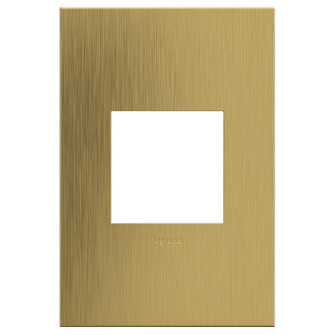 Brushed Satin Brass, 1-Gang  Wall Plate (AWC1G2BSB4)