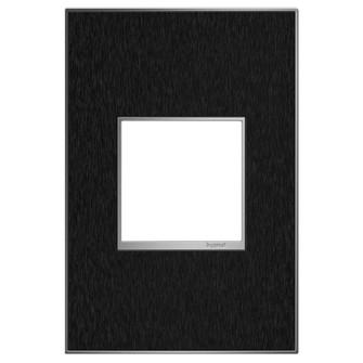 Black Stainless, 1-Gang Wall Plate (1452|AWM1G2BLS4)