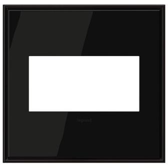 Black Nickel, 2-Gang  Wall Plate (1452|AWC2GBLN4)