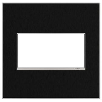 Black Stainless, 2-Gang Wall Plate (AWM2GBLS4)