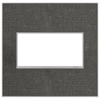 Slate Linen, 2-Gang Wall Plate (1452 AWM2GSL4)