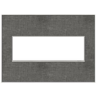 Slate Linen, 3-Gang Wall Plate (1452 AWM3GSL4)