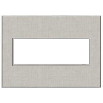 True Linen, 3-Gang Wall Plate (1452 AWM3GTL4)