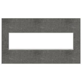 Slate Linen, 4-Gang Wall Plate (1452 AWM4GSL4)