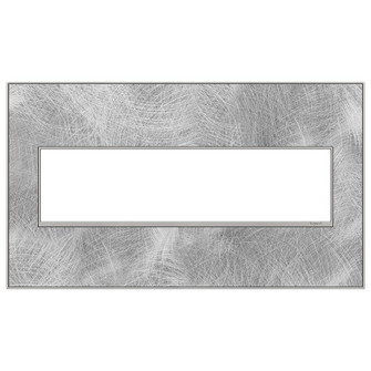 Spiraled Stainless, 4-Gang Wall Plate (1452|AWM4GSP4)