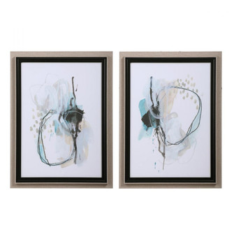 Uttermost Force Reaction Abstract Prints, S/2 (85|33718)