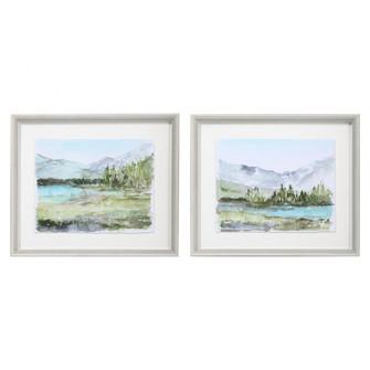 Uttermost Plein Air Reservoir Watercolor Prints, S/2 (85|33719)