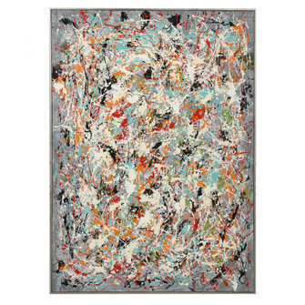 Uttermost Organized Chaos Hand Painted Canvas (85|34379)