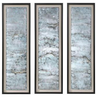 Uttermost Ocean Swell Painted Metal Art, S/3, 3 Cartons (85|35374)