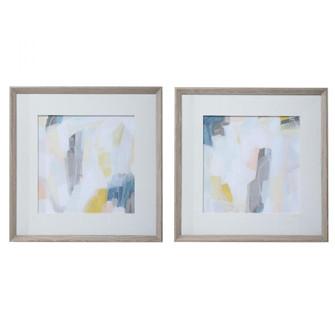 Uttermost Fractal Pastel Abstract Art, S/2 (85|41623)