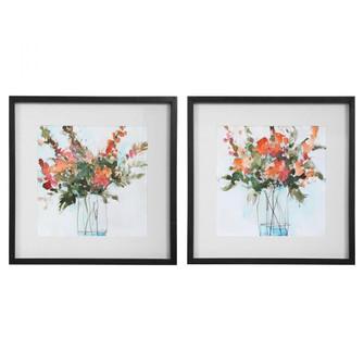 Uttermost Fresh Flowers Watercolor Prints, S/2 (85|41619)