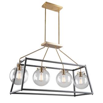 Bridegtown 4 Light Cage Pendant (12|AC11604VB)