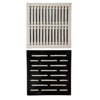 Uttermost Domino Effect Modern Wall Decor, S/2 (85|04278)