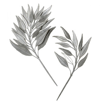 Uttermost Palm Branches Metal Wall Decor, S/2 (85|04283)