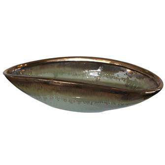 Uttermost Iroquois Green Glaze Bowl (85|17855)