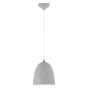 1 Lt Nordic Gray Pendant (108|49108-80)