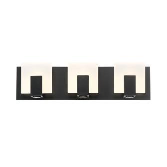 CANMORE,3LT LED BATHBAR,BLK (4304|34143-023)