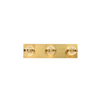 RYDER,BATHBAR,LED,3LT,BR GOLD (4304|37069-025)