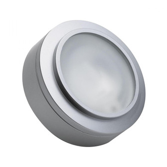 XENON PUCK LIGHT STAINLESS STEEL W/LAMP (91|MZ401-5-16)
