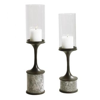 Uttermost Deane Marble Candleholders, S/2 (85|17882)