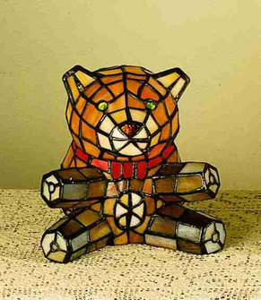 7 High X 6 Wide X 6 Deep Teddy Bear Accent Lamp (96 13351)