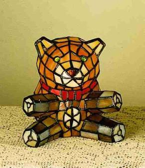 7'' High Teddy Bear Accent Lamp (96|13351)