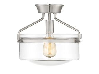 1 Light Brushed Nickel Semi Flush (8483|M60011BN)