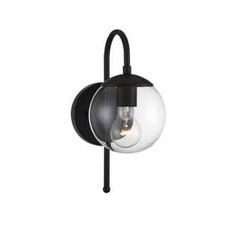 1 Light Matte Black Exterior Wall Sconce (8483|M50030BK)