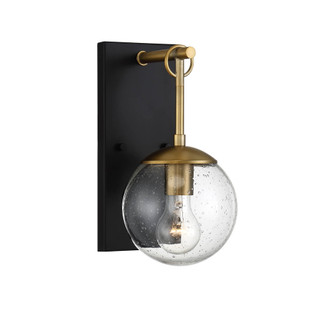 1 Light Oil Rubbed Bronze with Natural Brass Exterior Wall Sconce (8483|M50029ORBNB)