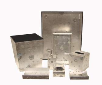 TOWEL HOLDER, SILVER (272|72-S580/SIL)