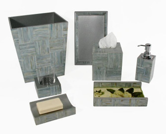 PERFUME TRAY, WEAVE, MOP (272|72-987/A)