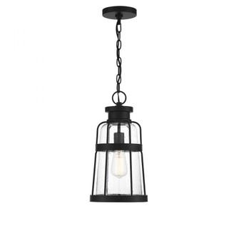 Quinton 1 Light Matte Black Hanging Lantern (641|V6-L5-2943-BK)