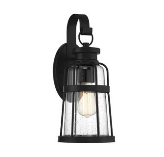 Quinton 1 Light Matte Black Medium Exterior Sconce (641|V6-L5-2941-BK)