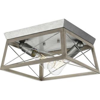 2-60W MED FLUSH MOUNT (149 P350039-141)