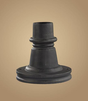 OUTDOOR ACCESSORY WEATHERED CHARCOAL BASE (91|43002WC)