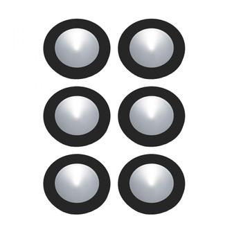 Polaris Kit LED, 18W Driver/Harness, 6x3W Osram 32K 700mA Puck Black (91|WLE140C32K-0-31-6)